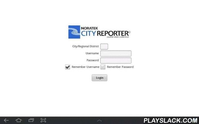 CityReporter Phone  Android App - playslack.com ,  City Inspection SoftwareCityReporter™ mobile inspection tools solve the most pressing concerns of inspectors, administrators, and technical support staff with a seamless, integrated, paperless solution.CityReporter™ is a collection of productivity inspection tools for:• Building inspections• Park inspections• Facility inspections• Sports field inspections• Road inspections• Sidewalk inspections• With ongoing development to meet the needs of…