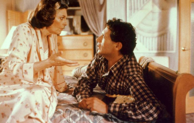 Anne Bancroft, Harvey Fierstein, 1988 | Essential Gay Themed Films To Watch, Torch Song Trilogy http://gay-themed-films.com/films-to-watch-torch-song-trilogy/