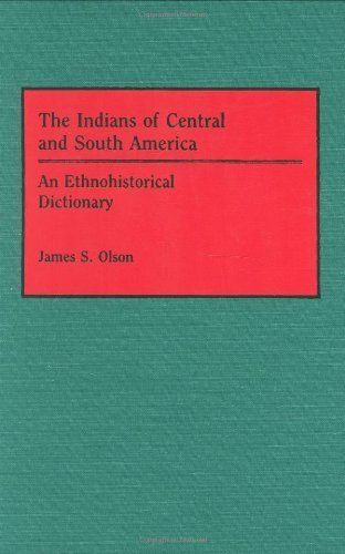 The indians of central and south america an for Forward dictionary