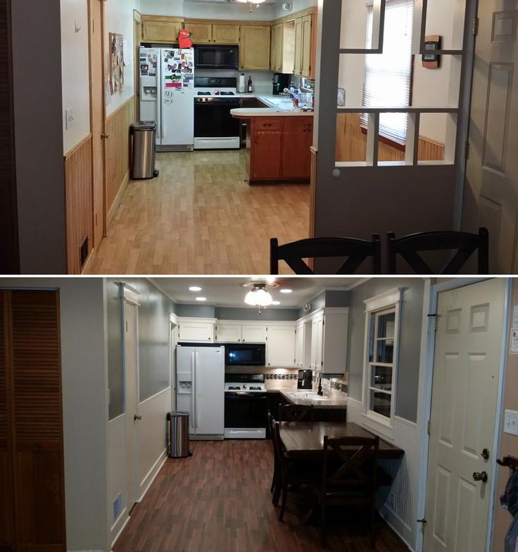 U201cI Did A Complete Remodel Of Our Kitchen. Removing A 1/4 Wall, Building An  Arch, New Cabinets, Lighting, Installing A Dish Washer, Custom Counter Top  And ...