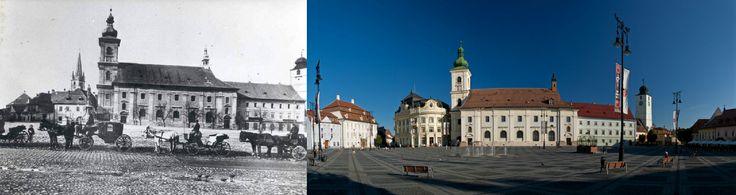 Sibiu in trecut si astazi