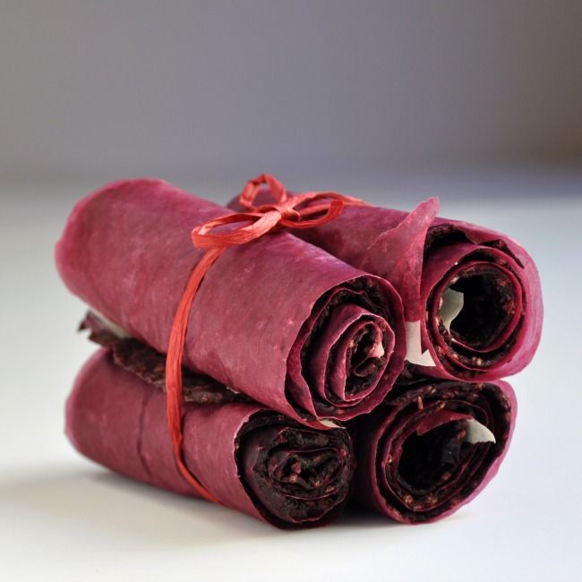 Marionberry Sage Fruit Leather - Pinch and Swirl