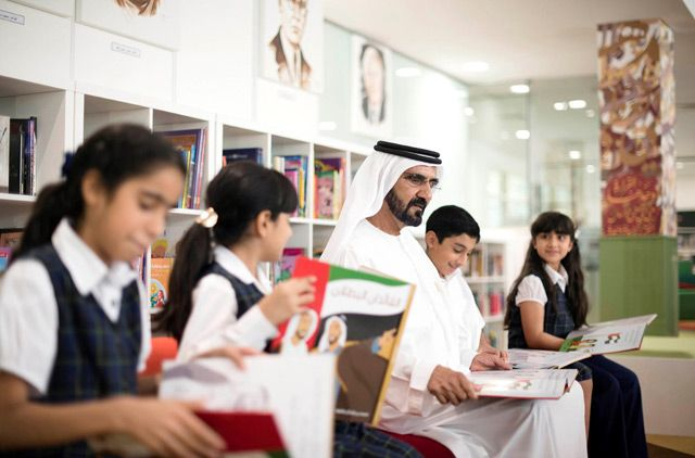Sheikh Mohammed announces initiative to supply school libraries with 1m books