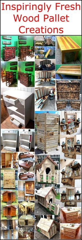 Let's reshape and transform your home, your garden, outdoor restaurant and your tv lounge into an appealing and royal place with these inspiring wood pallet projects. These wood pallets creations will definitely fulfill your fabulous wooden furniture needs and also furnish your home in an economical way. The most attractive fact about wood pallets is that they can be easily reshaped and transform to make different kinds of wooden furniture.