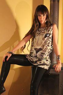 lion print rock look #fashion#stile