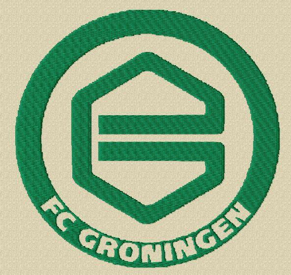 Blij om mijn nieuwste toevoeging aan mijn #etsy shop te kunnen delen: Logo, football, football club, Groningen, machine embroidery design, FC Groningen Logo , Eredivise, Dutch League, soccer, football,
