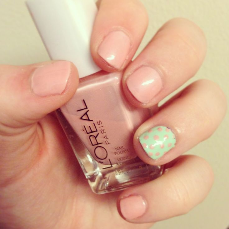 Baby pink nails ;) | Nails | Pinterest