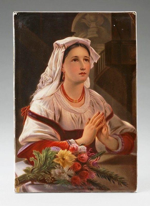 Молитва женщины