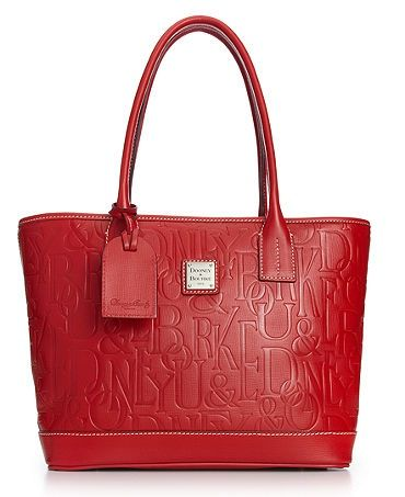 Dooney & Bourke Handbag, Logo Embossed Retro Russel Bag - ladies handbags online shopping usa, leather handbags wholesale, all name brand handbags