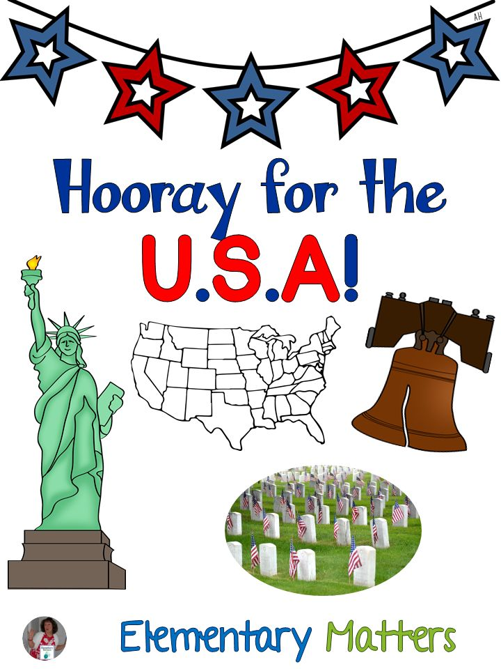 Hooray for the USA! This blog post has several ideas for celebrating any USA holiday including Constitution Day, Veterans Day, Presidents Day, Memorial Day, Flag Day, and Independence Day!