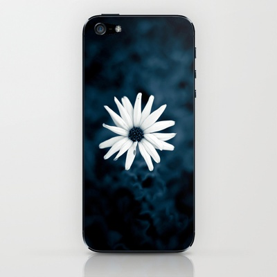 Blue iPhone & iPod Skin by unaciertamirada - $15.00