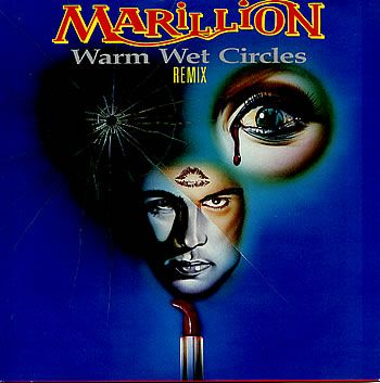 """For Sale - Marillion Warm Wet Circles (Remix) UK 7"""" vinyl single (7 inch record) - See this and 250,000 other rare & vintage vinyl records, singles, LPs & CDs at http://eil.com"""