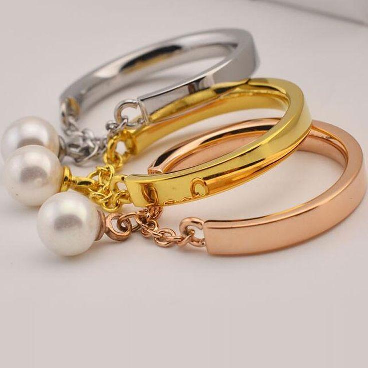 Роскошные CZ алмаза жемчужные украшения из нержавеющей стали обручальные кольца для женщин бижутерии Bagues роковой Anillos Mujer Aneis палец кольцо