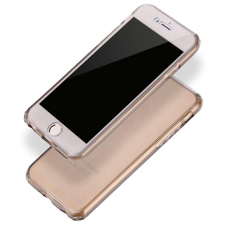 Antichoque-360-Gel-De-Silicona-Protector-Transparente-carcasa-funda-para-iPhone