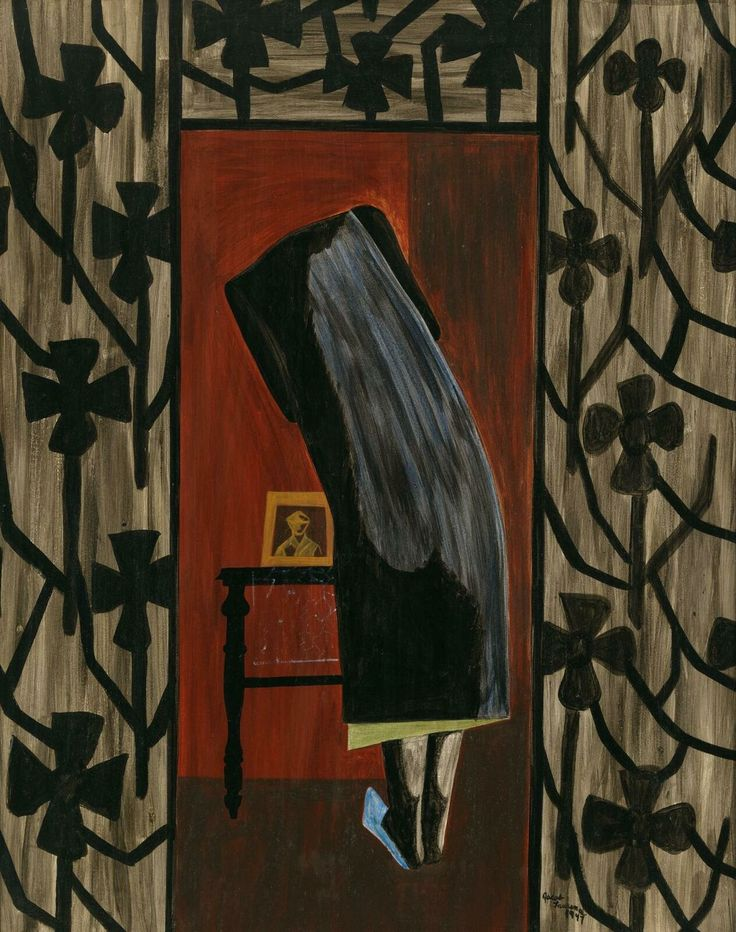 Jacob Lawrence's War Series describes firsthand the sense