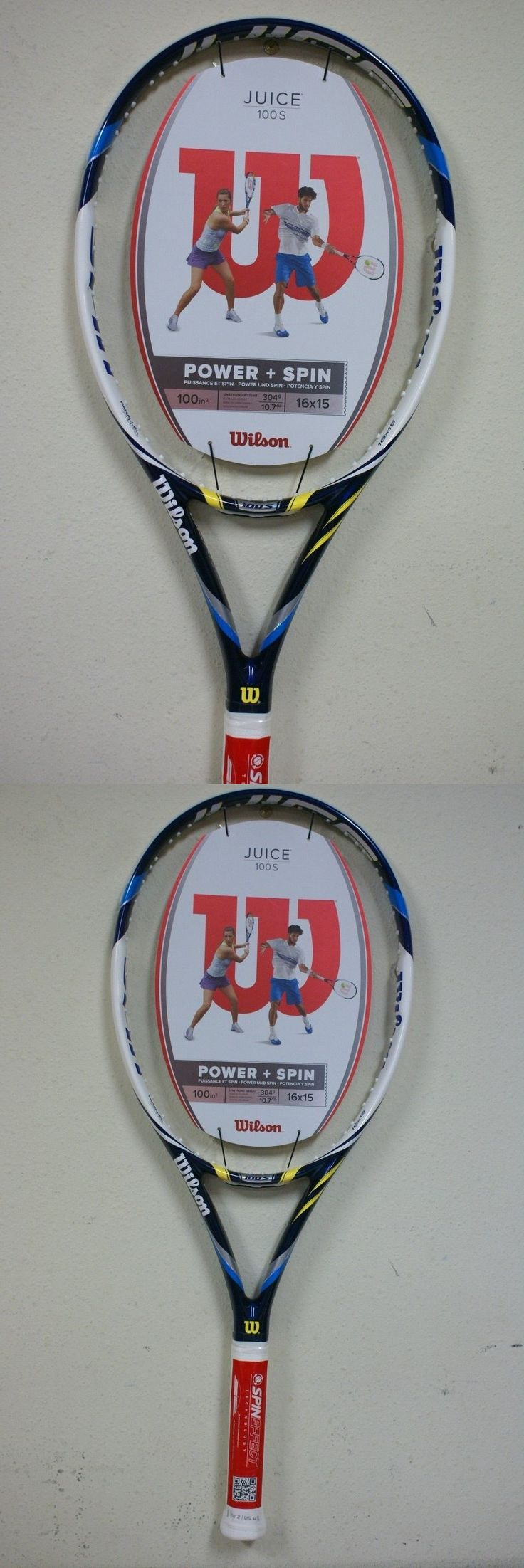 Racquets 20871: Wilson Juice 100S Tennis Racquet Grip Size 4 1 4 -> BUY IT NOW ONLY: $129.99 on eBay!