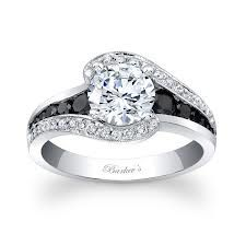 249 best images about engagement rings on pinterest wedding band sets black diamond rings and marquise diamond - Black And White Diamond Wedding Rings