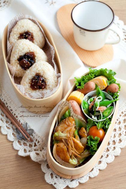春野菜と鶏むね肉のジンジャーソテー弁当。|あ~るママオフィシャルブログ「毎日がお弁当日和♪」Powered by Ameba