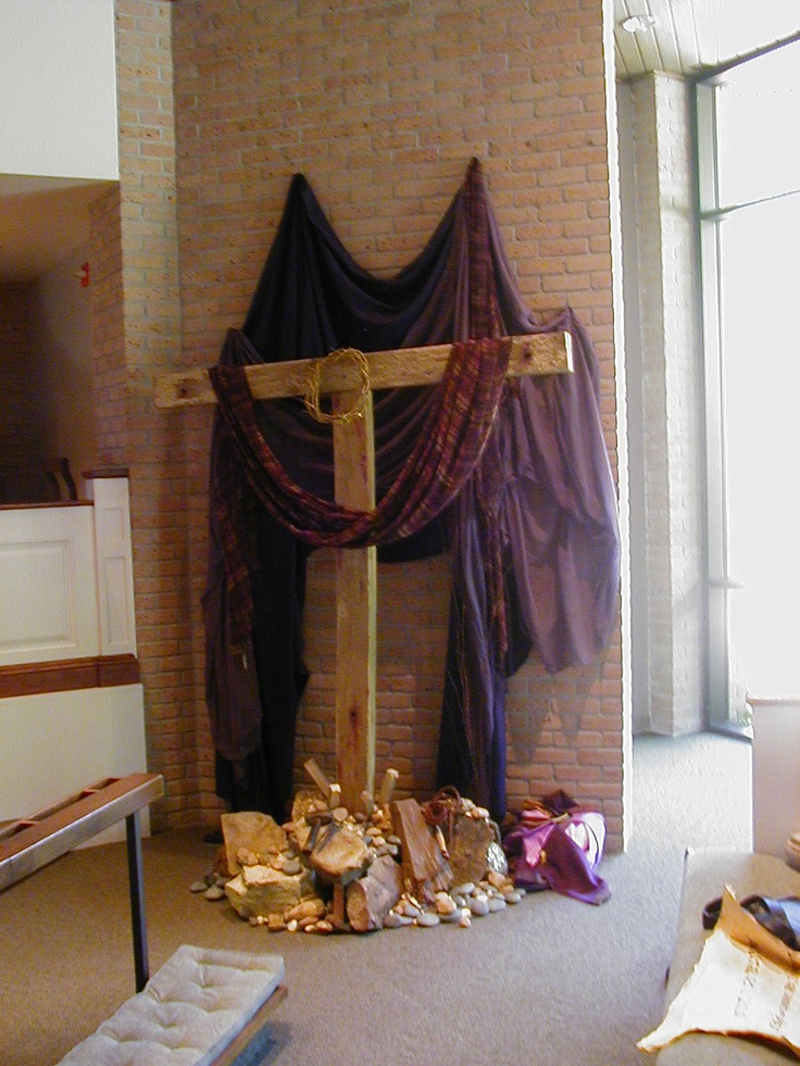 606 best images about church paraments on pinterest for Lent decorations for home