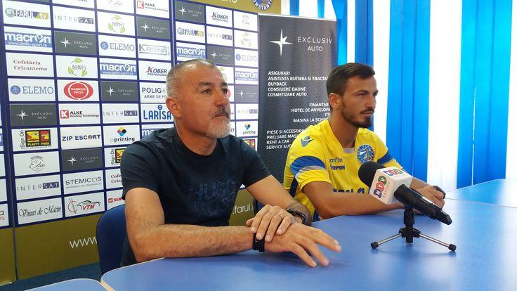 Astăzi s-a desfășurat conferința de presă, premergătoare meciului FC Voluntari II – SSC Farul Constanța din etapa inaugurală a Ligii a III-a, care se va juca vineri, 1 septembrie, de la ora 1…