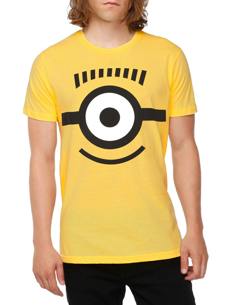 Despicable Me 2 Carl Face T-Shirt | Hot Topic this is a have to get