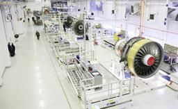 Emirates Signs Historic $9.2 Billion* Order with Rolls-Royce for A380 Engines A Rolls-Royce Trent 900 engine