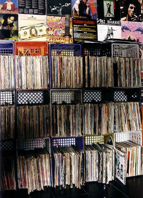 Vinyl Records....A Blast From The Past.