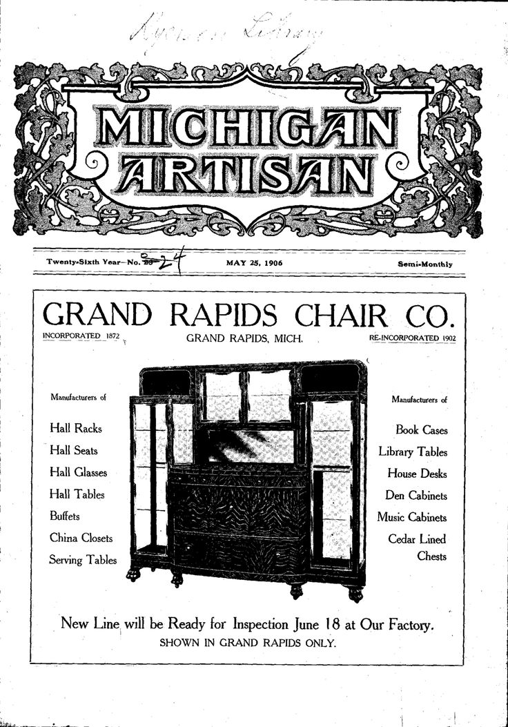29 Best Grand Rapids Bookcase Chair Company Images On Pinterest Bookcase Bookcases And