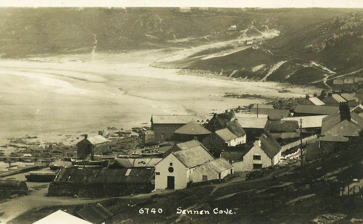 Sennan cove 1937 http://www.360degreebeaches.com/vintage-cornwall/