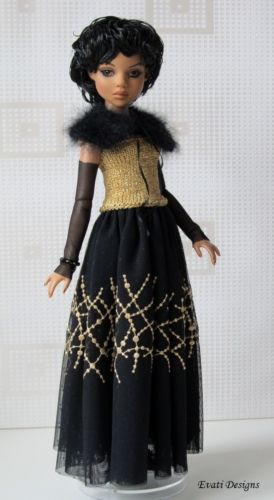 Crochet Summer Outfit and Hat For Tonner Ellowynne Wilde//Lizette//Amber