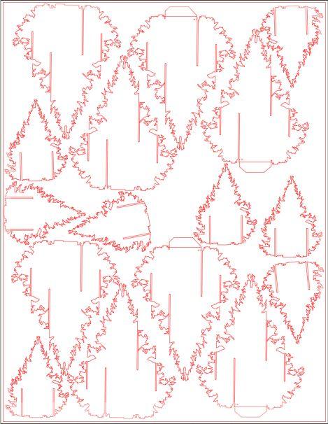 2012 Christmas Card Pattern Tutorial Sch Kiri Papercuts