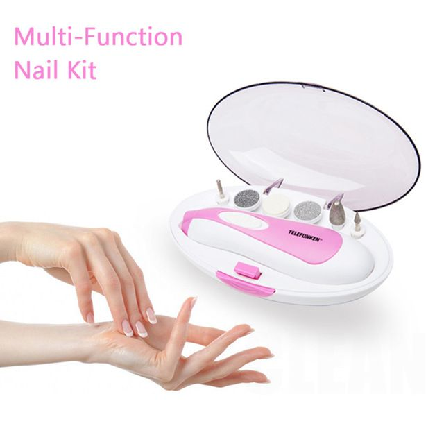 RANDOM COLOR! Portable Nail Buffer Set Manicure Machine //Price: $14.25 & FREE Shipping //     #hashtag4