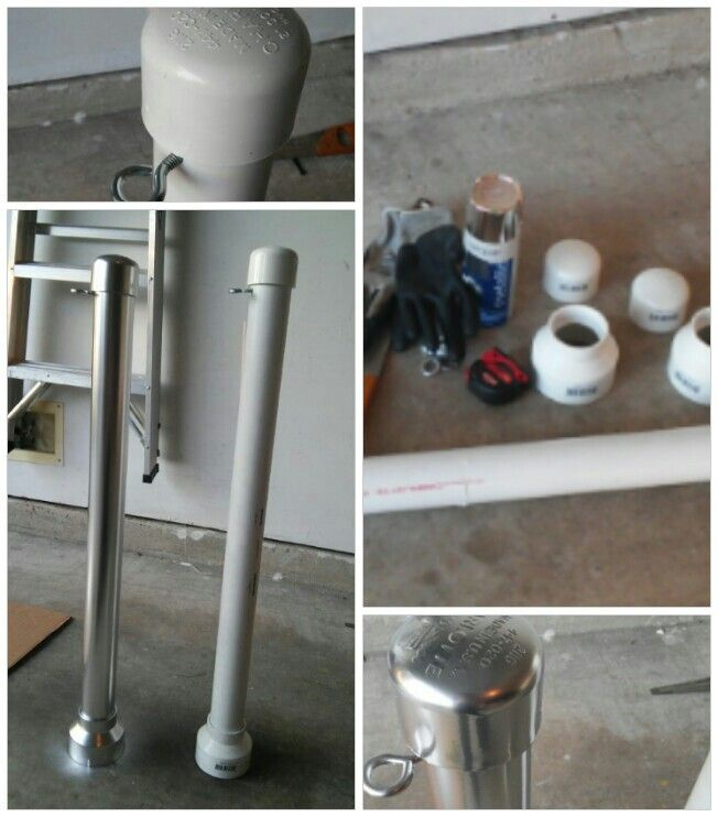 DIY Red Carpet Stanchion