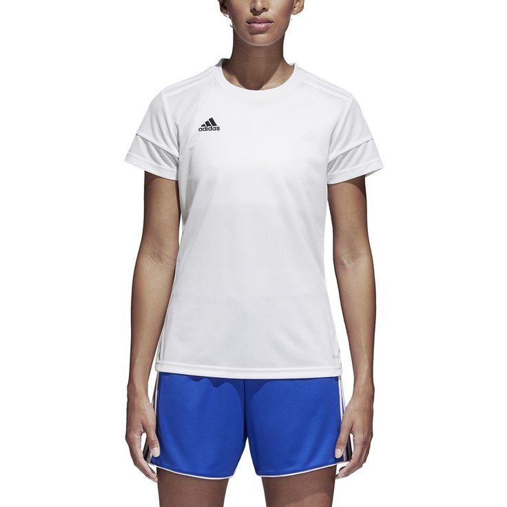 adidas Women's Squadra 17 Short-Sleeve Jersey in 2021 | Adidas ...