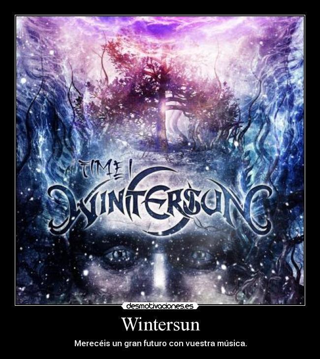 carteles wintersun death metal melodico musica desmotivaciones