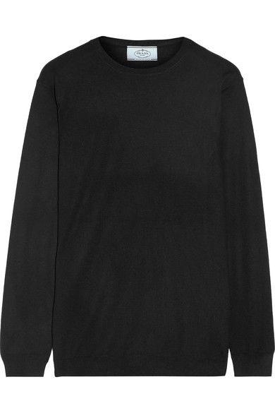 Prada - Wool Sweater - Black - IT48