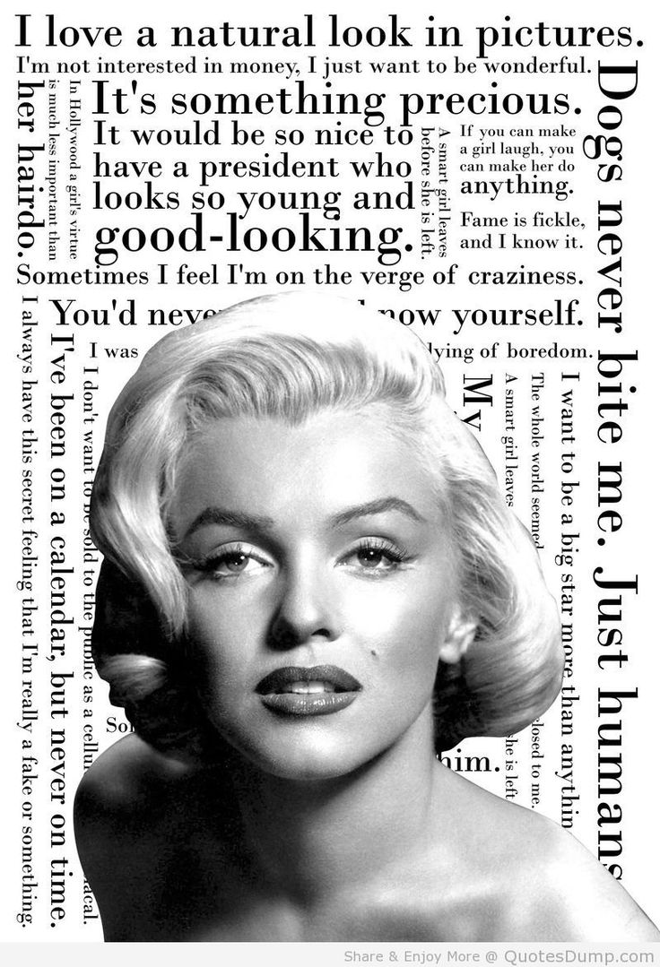 61 best marilyn images on Pinterest | Marilyn monroe quotes ...