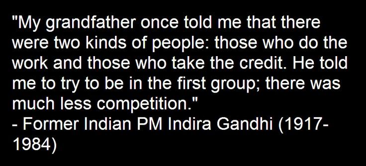121102 - Former Indian PM Indira Gandhi (1917-1984) #quotes #getupreadup
