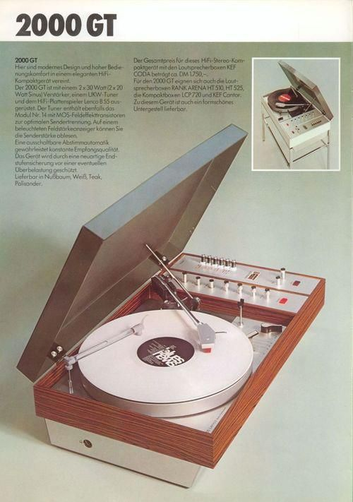 200 GT turntable. #recordplayer #turntable http://www.pinterest.com/TheHitman14/the-record-player-%2B/