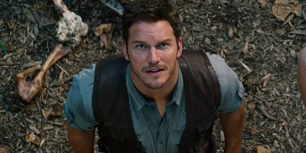 We're not exactly sure how many filters Chris Pratt applied to that particular photo, but it's still pretty clear that the guy has once again bronzed up to portray the focal point of the Jurassic series — which makes sense, considering how much time Owen spends in the jungle....
