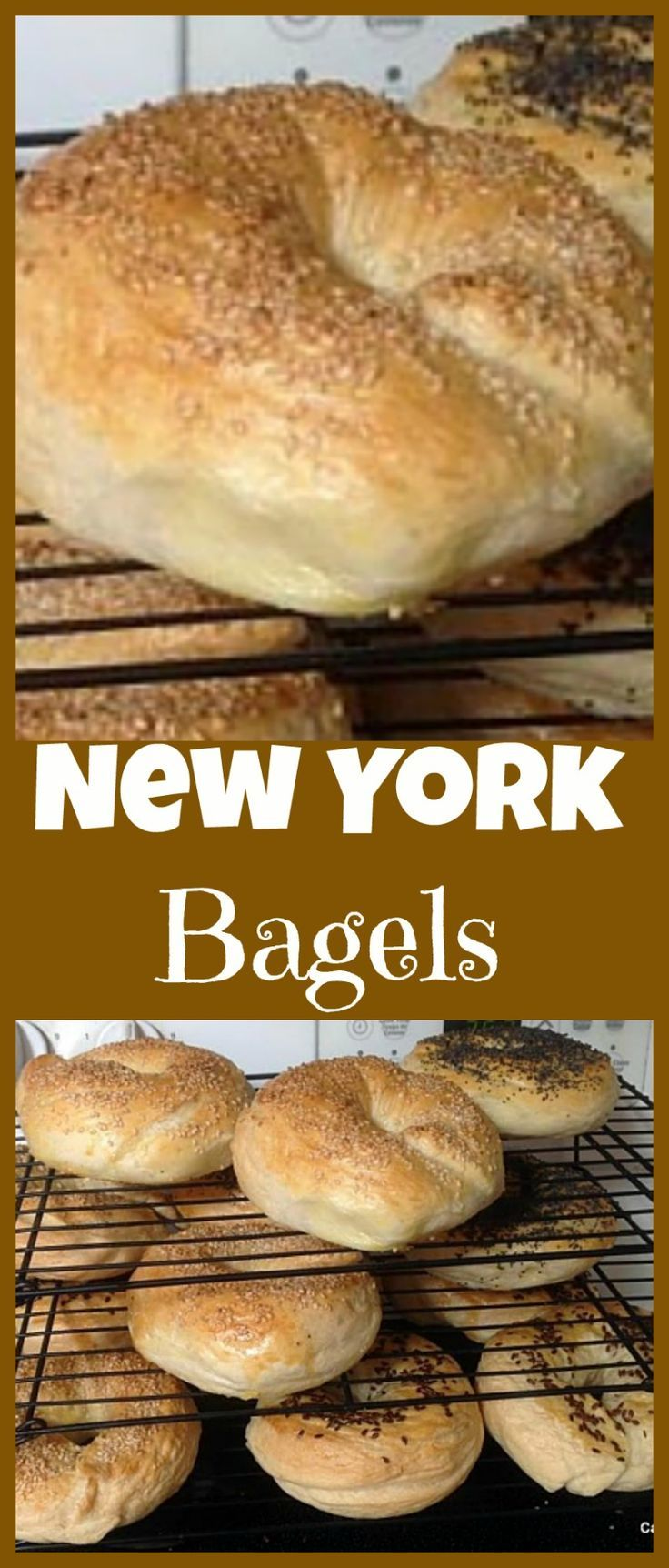 Homemade Fresh Bagels - Great instructions and recipe for how to get your bagels perfect! What toppings would you choose? Sweet or Savory? #breakfast #dessert #bread