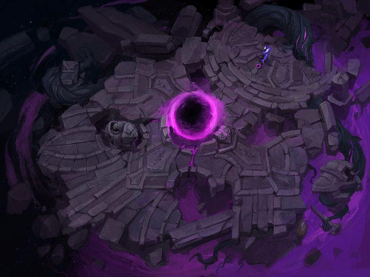 ArtStation - League of Legends Map - Dark Star: Singularity, Grace Liu