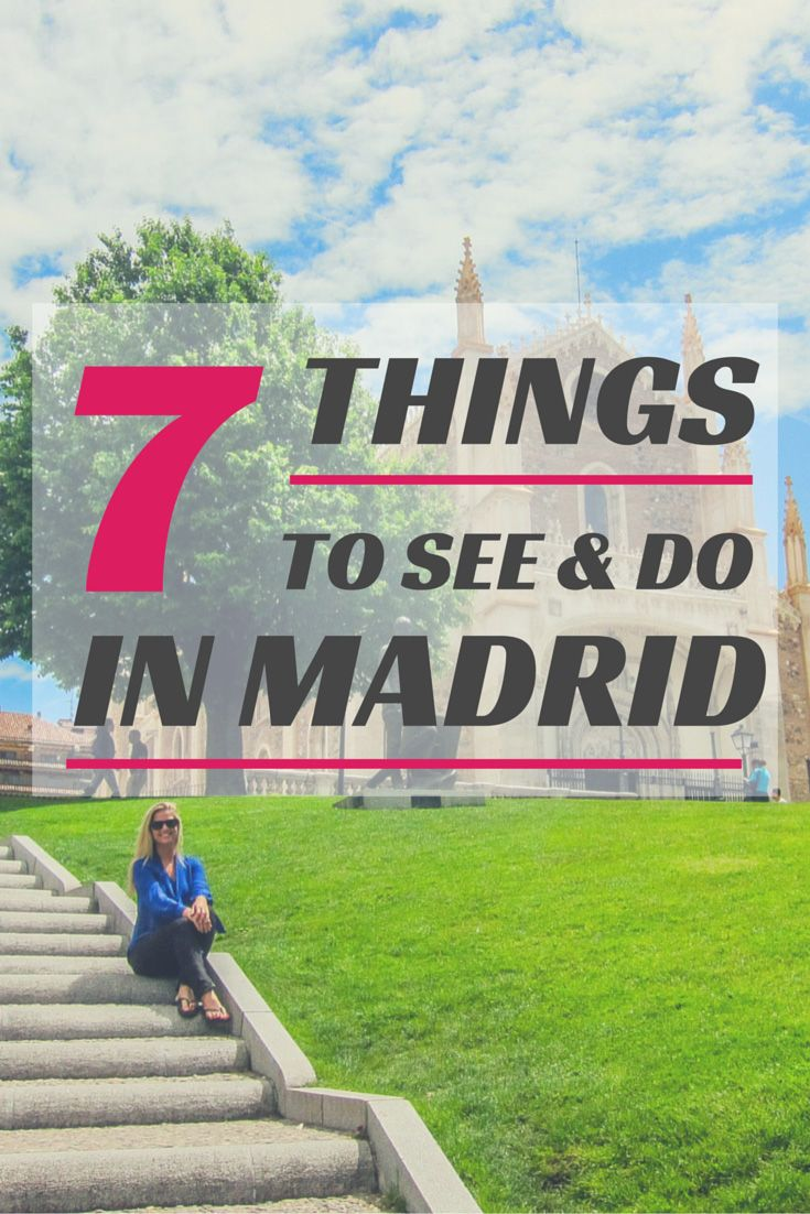 Top 7 Things to See and Do in Madrid   The Blonde Abroad