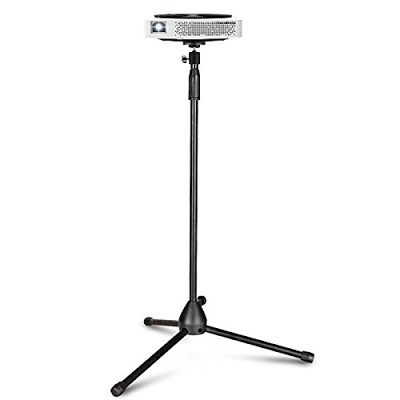 """REVIEW! Portable Projector Stand, Auledio Lightweight Projector Tripod Floor Stand Holder with 360°Swivel Ball Head and Adjustable Height (29.5"""" - 55.1"""")"""