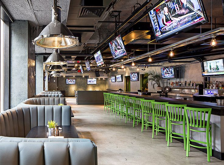 Nice Architectural Interior Photo Of Warehouse Bar And Grille