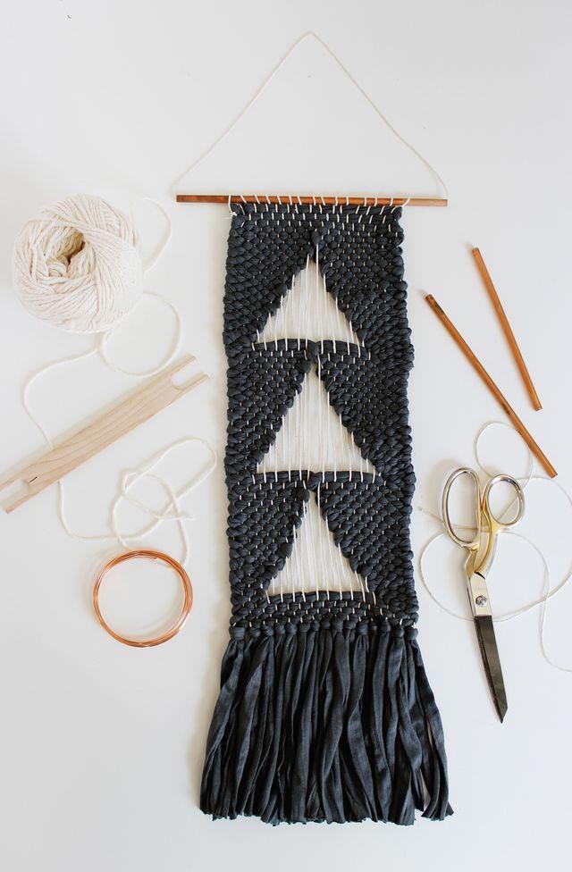 Negative Space Weaving
