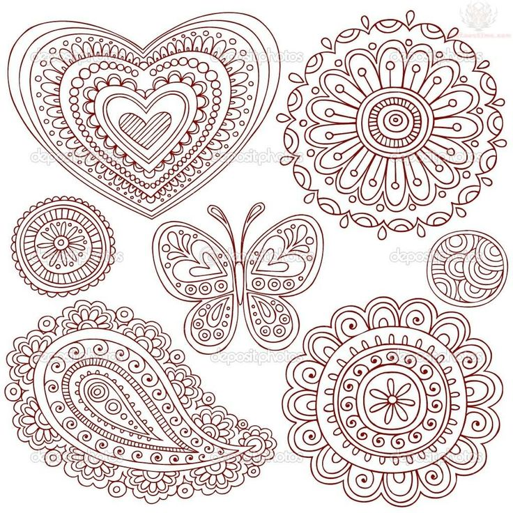 Paisley Pattern Tattoos Page 10 source Tattoo Wallpaper Looked:henna tattoo designs