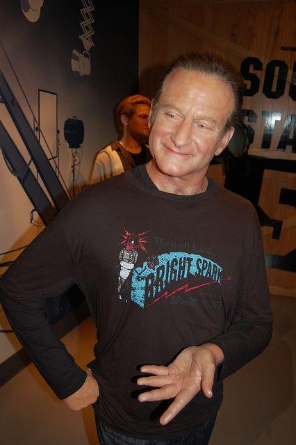 Robin Williams - Madame Tussauds Wax museum, Hollywood