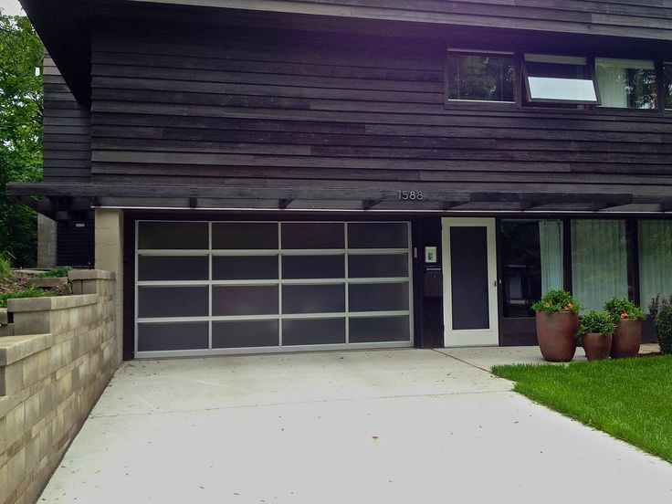 Mid Century Modern Minneapolis MN. I love the Lucite garage door panels! & 19 best Aker Doors - Glass or Lucite Garage Doors images on ...