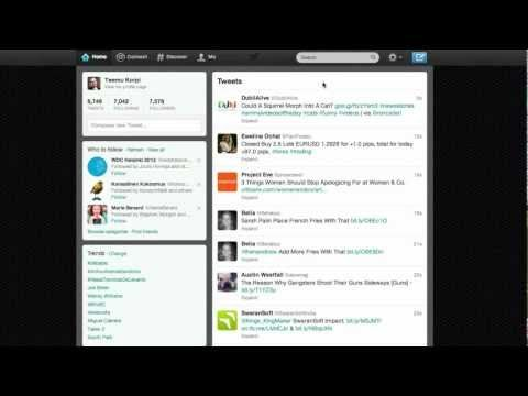 ▶ Twitter työnhaun välineenä - YouTube